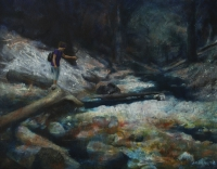 River bed,50x65cm, Peter Sojka 2012